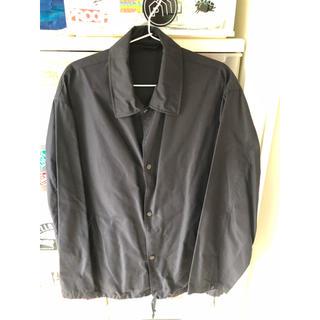 コモリ(COMOLI)のcomoli silk coach jacket(ナイロンジャケット)
