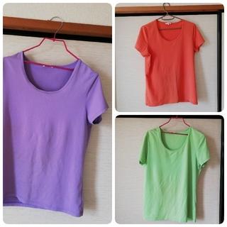 ユニクロ(UNIQLO)のユニクロ XLサイズ Tシャツ 3枚(Tシャツ(半袖/袖なし))