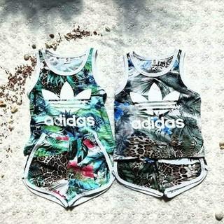 adidas - 韓国子供服上下セット