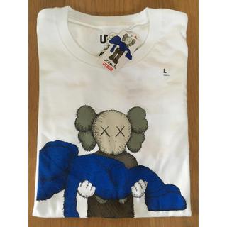 UNIQLO - UNIQLO KAWS コラボ Tシャツ Lサイズ 半袖 ユニクロ カウズ