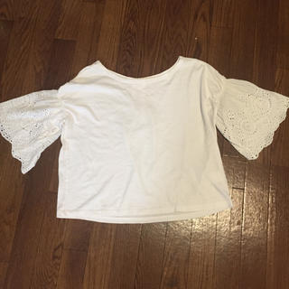 ニコアンド(niko and...)のニコアンド レース袖 トップス(Tシャツ(半袖/袖なし))