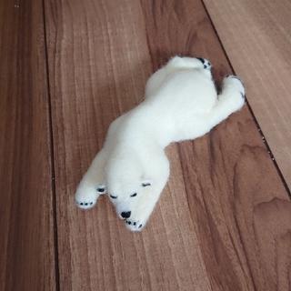 羊毛フェルト~白くま