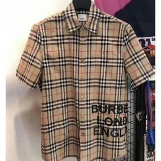 BURBERRY - メンズ 半袖 シャツ ファッション カッコいい トップス 送料無料