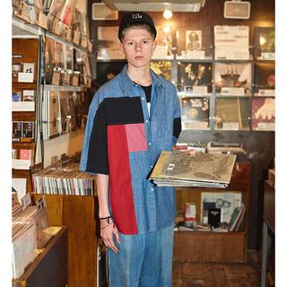LAD MUSICIAN - Lad Musician Dungaree Shirt 44
