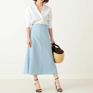 Demi-Luxe BEAMS - Demi-Luxe BEAMS リネンスカート 36サイズ 手洗い可能