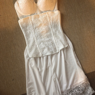 PasPas☆ウエディングドレス用インナー3点セット(ブライダルインナー)