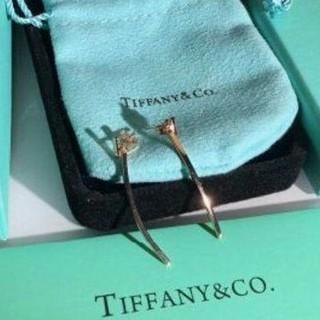 Tiffany & Co. - 新作 ティファニー T ワイヤー バー ピアス