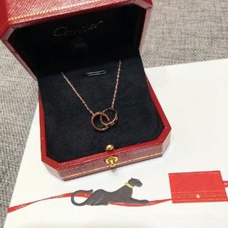 カルティエ(Cartier)のカルティエ ラブ 大人気 ネックレス(ネックレス)