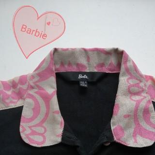 バービー(Barbie)のバービー Barbie 襟つきパフスリーブTシャツ カットソー(カットソー(半袖/袖なし))