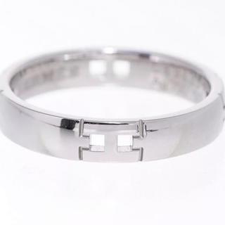 エルメス(Hermes)の希少エルメスリング指輪750WG #50(リング(指輪))