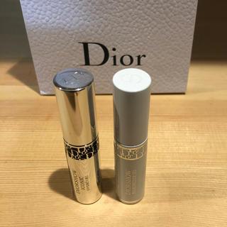 ディオール(Dior)のディオール マスカラ ミニ、二本セット💕(マスカラ)