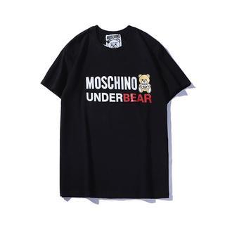 MOSCHINO - MOSCHINO モスキーノ Tシャツ クマ シンプル ブラック M