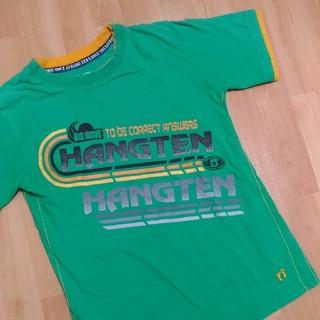 HANG TENグリーンの半袖Tシャツ150