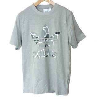アディダス(adidas)の新品M★アディダスオリジナルス グレーカモトレフォイルT(Tシャツ/カットソー(半袖/袖なし))