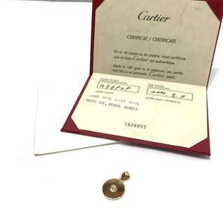 カルティエ(Cartier)の938 カルティエ 750 K18 ペンダントトップ ダイヤ(ネックレス)