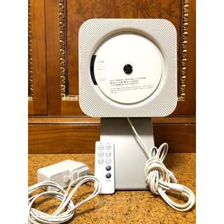 ムジルシリョウヒン(MUJI (無印良品))の壁掛式CDプレーヤー 型番:CPD‐4 (ポータブルプレーヤー)
