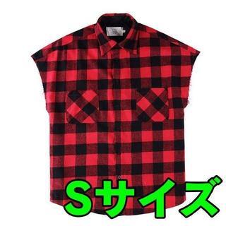 フィアオブゴッド(FEAR OF GOD)のSサイズ FOG Plaid Flannel Cutoff Shirt(シャツ)