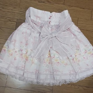 リズリサ(LIZ LISA)のリズリサ イングリッシュローズ スカート(ミニスカート)