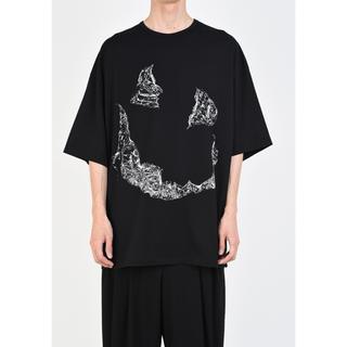 ラッドミュージシャン(LAD MUSICIAN)のSUPER BIG T-SHIRT  顔T オバケT 新品(Tシャツ/カットソー(半袖/袖なし))