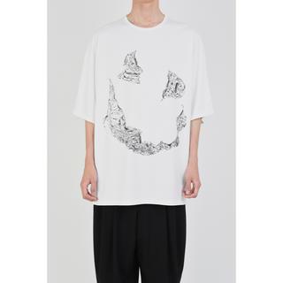 ラッドミュージシャン(LAD MUSICIAN)のSUPER BIG T-SHIRT  顔T オバケT(Tシャツ/カットソー(半袖/袖なし))