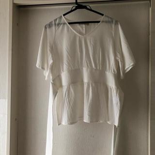 ディスコート(Discoat)のリボンブラウス(シャツ/ブラウス(半袖/袖なし))