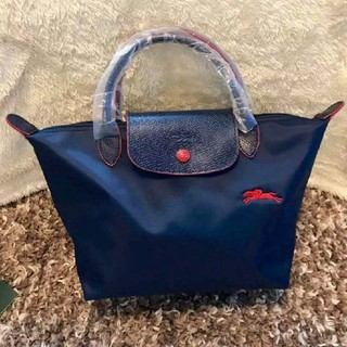 ロンシャン(LONGCHAMP)のロンシャン ネイビー S ハンドバッグ 70年記念 新品(ハンドバッグ)