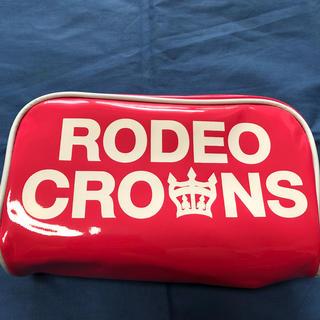 ロデオクラウンズ(RODEO CROWNS)の未使用ロデオクラウンロゴビニールポーチ(ポーチ)