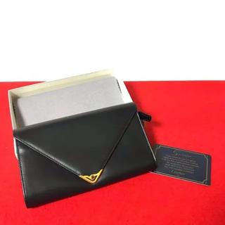 カルティエ(Cartier)の未使用 保管品 カルティエ サファイア ライン 二つ折り 長 財布 ネイビー(財布)