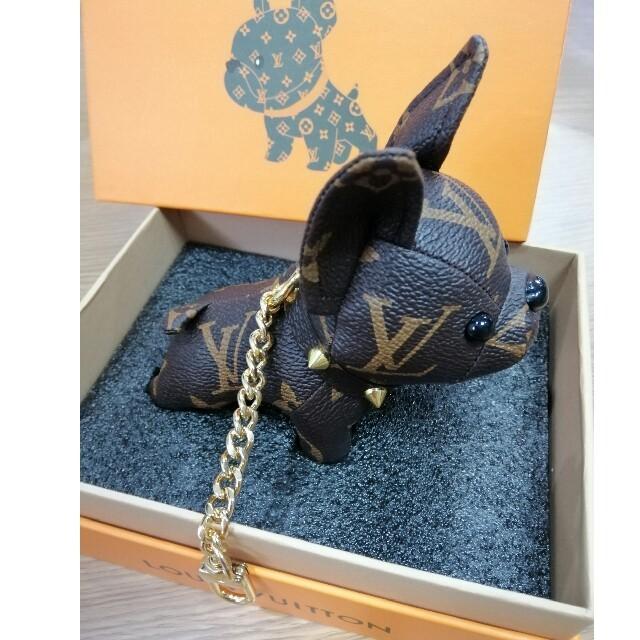 LOUIS VUITTON(ルイヴィトン)のお勧め  ルイ・ヴィトン  キーホルダー 犬  レディースのファッション小物(キーホルダー)の商品写真