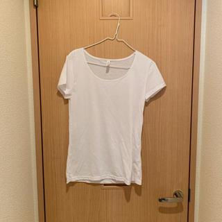 無地 白Tシャツ(Tシャツ(半袖/袖なし))