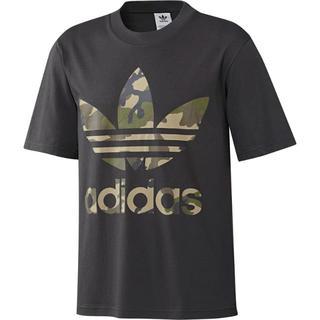 アディダス(adidas)の新品L★アディダスオリジナルス黒カモトレフォイルTシャツ(Tシャツ/カットソー(半袖/袖なし))