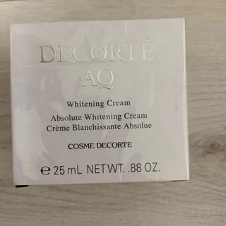 コスメデコルテ(COSME DECORTE)の新品未使用 コスメデコルテ AQホワイトニングクリーム(フェイスクリーム)