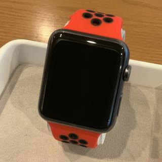 アップルウォッチ(Apple Watch)の(純正品) Apple Watch sport 7000series 42mm(腕時計(デジタル))