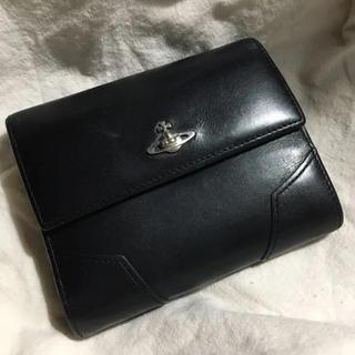 ヴィヴィアンウエストウッド(Vivienne Westwood)の黒 レザー財布(財布)