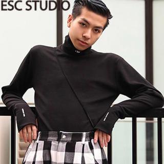 ESCSTUDIO タートルネック(Tシャツ/カットソー(七分/長袖))