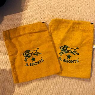 イルビゾンテ(IL BISONTE)のILBISONTE 巾着二枚セット(ポーチ)