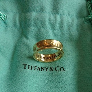 ティファニー(Tiffany & Co.)のティファニー K18 1837 リング(リング(指輪))