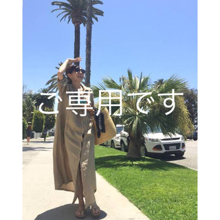 L'Appartement DEUXIEME CLASSE - アパルトモン   REMI RELIEF MAXI シャツワンピース