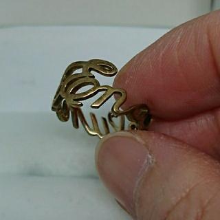 エナソルーナ(Enasoluna)のエナソルーナ ロゴリング(リング(指輪))