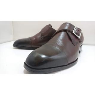 【俺の靴-060】★USED 美品 イタリアンレザーキップ 日本製(ドレス/ビジネス)