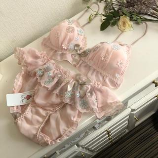 Risa Magli - ¥4803 Risa Magli リサマリ  ブラレット&ショーツセット