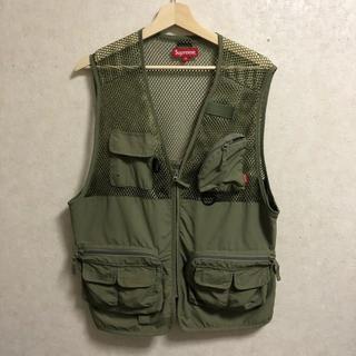Supreme - Supreme 18ss mesh cargo vest