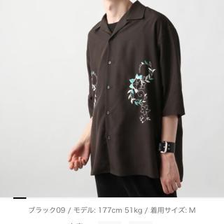 ハレ(HARE)のHARE 刺繍開襟シャツ ヨシヒコ様専用(シャツ)