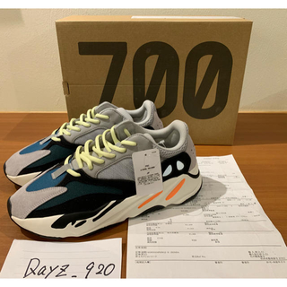 adidas - 希少 adidas yeezy boost 700  〝wave runner〟