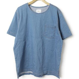グラミチ(GRAMICCI)のレミレリーフ ロンハーマン ブルーブルー ノースフェイス ネペンテス Name.(Tシャツ/カットソー(半袖/袖なし))