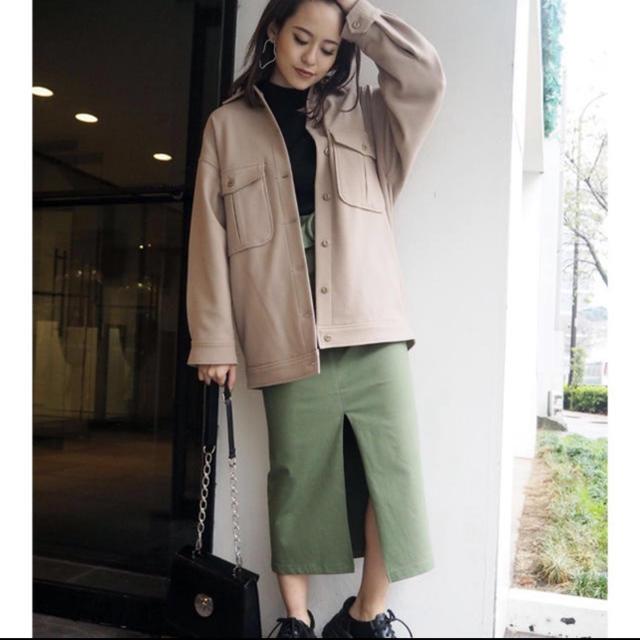 MURUA(ムルーア)のMURUA ペールカラールーズブルゾン レディースのジャケット/アウター(ブルゾン)の商品写真
