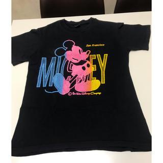 Disney - アメリカ製 ミッキーTシャツ レトロ