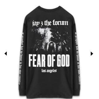 フィアオブゴッド(FEAR OF GOD)のfear of god jay z forum long sleeve tee(Tシャツ/カットソー(七分/長袖))