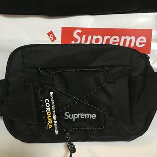 Supreme - supreme 17ss waist bag black