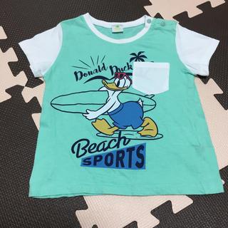 しまむら - ドナルドダック Tシャツ 90